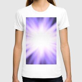 Violet light rays T-shirt