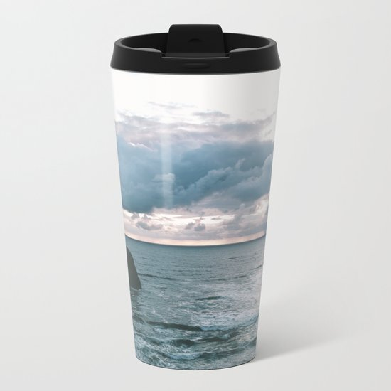 Oregon Coast X Metal Travel Mug