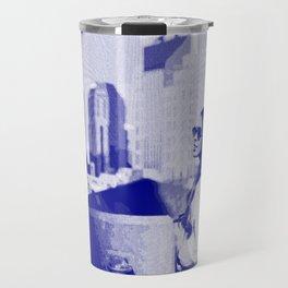 City Girl — Pseudo Risograph Travel Mug