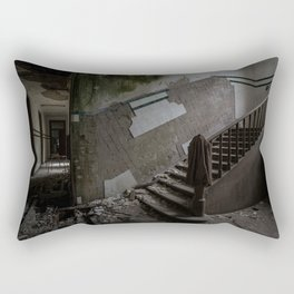 Abandoned Asylum Rectangular Pillow