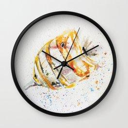 fish watercolor, watercolor, ocean fish, Wall Clock