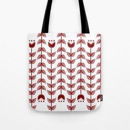flowers upside down Tote Bag