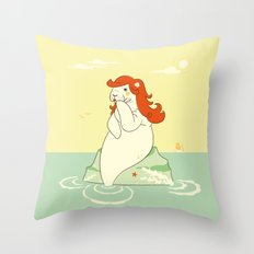 A sailors dream Throw Pillow