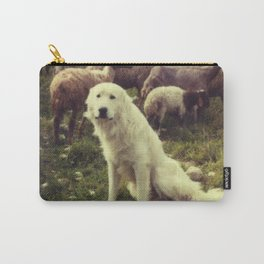 Herding dog, female, south of Israel, scaned sx-70 Polaroid Carry-All Pouch