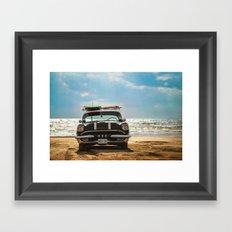 Surf's Up Sauble Framed Art Print