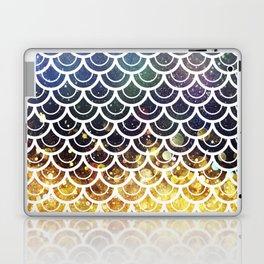 Mermaid Scales Deep Sea Sparkle Laptop & iPad Skin