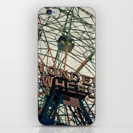 Coney Island Wonder Wheel iPhone Skin