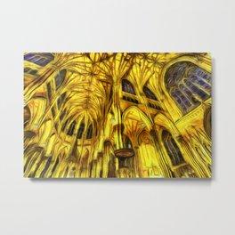The Cathedral Vincent Van Goth Metal Print