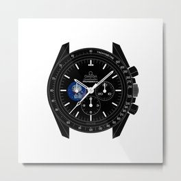 Omega Speedmaster Snoopy Moonwatch Anniversary Limited Edition - 311.32.42.30.04.003 Metal Print
