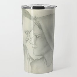 Child Jesus and Mary Travel Mug