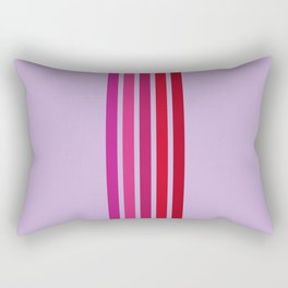 Girly Stripes Rectangular Pillow