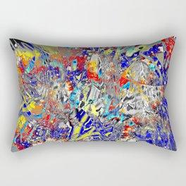 ice and fire friend Rectangular Pillow