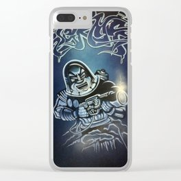 Topaz x Jerms 'Cold Blooded' Clear iPhone Case