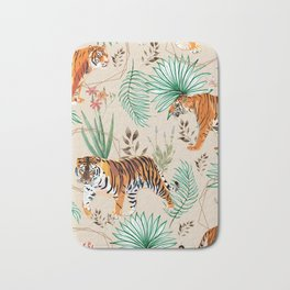 Tropical & Tigers Bath Mat