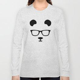 Nerd Panda Long Sleeve T-shirt