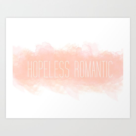 Hoplessly In Love Art Print