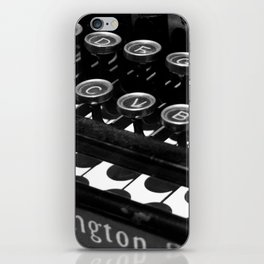 Legacy of a writer iPhone Skin