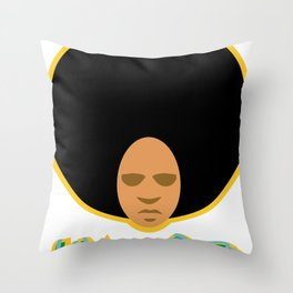Love the 'Fro Throw Pillow