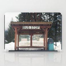 Slocan City Bus Stop iPad Case