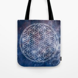 Sacred Geometry Universe 5 Tote Bag