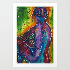 Back To You Art Print