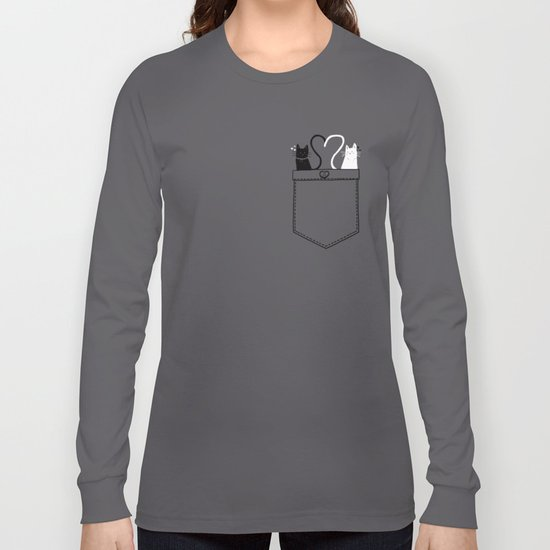 Po-Cats Love Long Sleeve T-shirt
