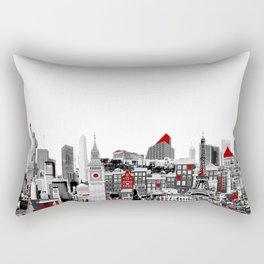 Skyline Combo Rectangular Pillow