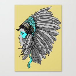 Warrior 4 - Alternative colorway Canvas Print