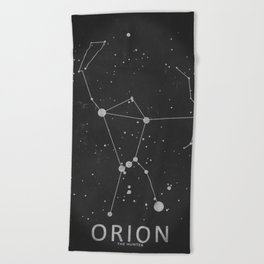 Orion Constellation 'The Hunter' Beach Towel