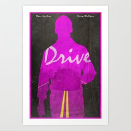 The Nightcall - Drive Poster Art Print