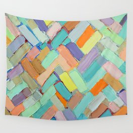 Peachy Internodes Wall Tapestry