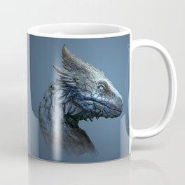 Sapphire Dragon Coffee Mug