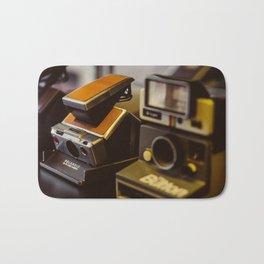 Vintage Instant Camera Bath Mat