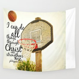 Philippians I can do all things Wall Tapestry