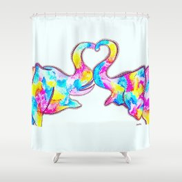 Endless Love Shower Curtain