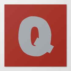 Q is for... Canvas Print