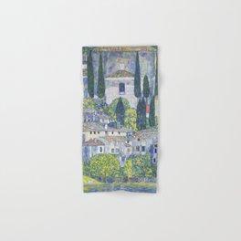 Gustav Klimt Church in Cassone Hand & Bath Towel