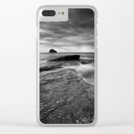 By the Rocky Shore Clear iPhone Case