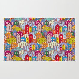 Cityscape Sketch Rug