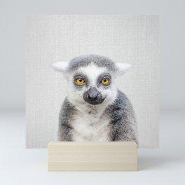 Lemur - Colorful Mini Art Print