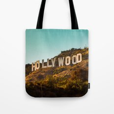 Hollywood Sign Tote Bag
