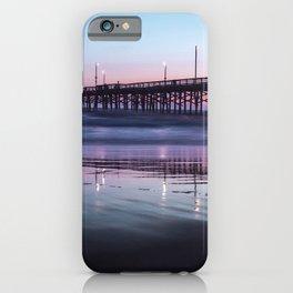 Sunset Beach Pier iPhone Case