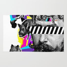 Pop Art Motifs Rug