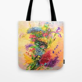 A bouquet of beautiful wildflowers Tote Bag