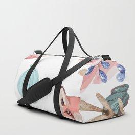 Vintage spring Duffle Bag