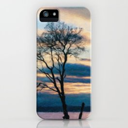 Madrona at the Purdy Spit iPhone Case