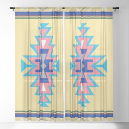 AZTEC WOTHERSPOON Sheer Curtain