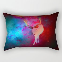 Deer without a Heart Rectangular Pillow