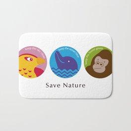 Save Nature Bath Mat