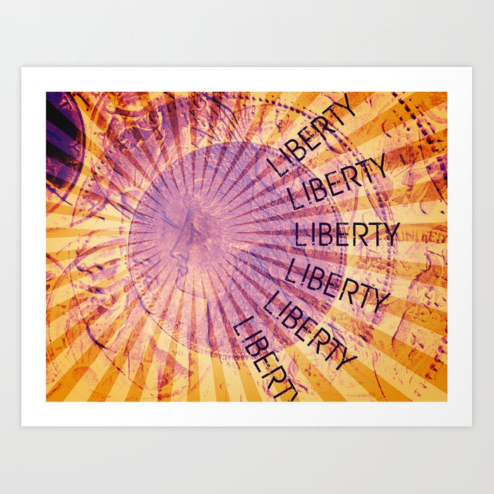 Vision of Liberty Art Print